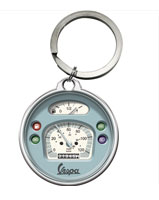 Vespa MY Speedo Key Ring 40mm